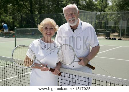 Active Senior Tennis Players