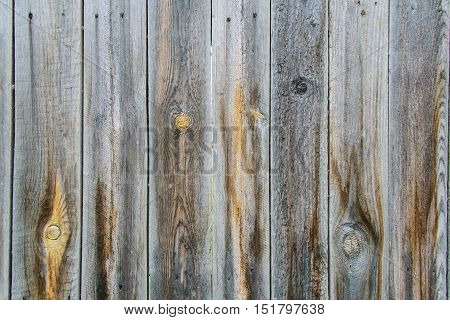 wooden rough boards with knots and scratches