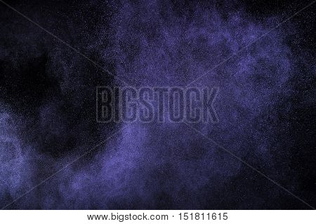 Purple Powder Explosion.
