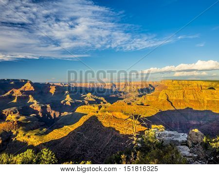 Sunset at Grand Canyon, Arizona, USA