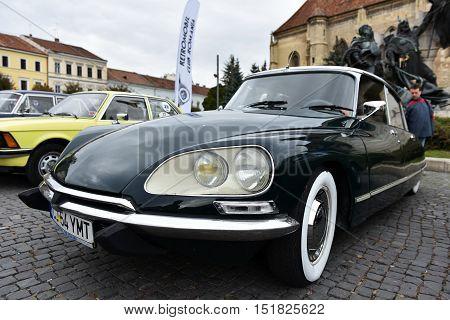 French Vintage Car. Citroen D521