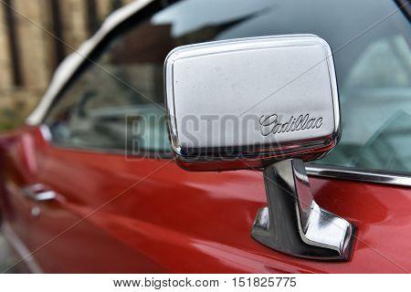 Cadillac Eldorado Vintage Car Side Mirror