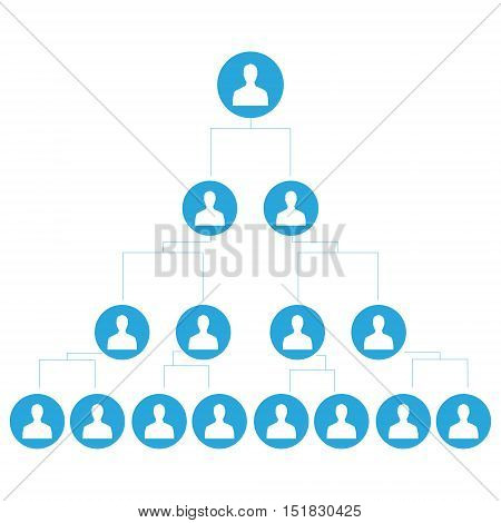 Business Network Vector