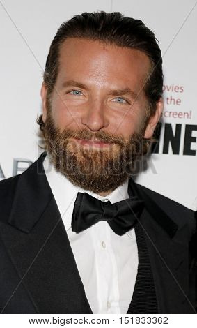 Bradley Cooper at the 30th Annual American Cinematheque Awards Gala held at the Beverly Hilton Hotel in Beverly Hills, USA on October 14, 2016.