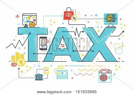 Tax Refund Business Concept