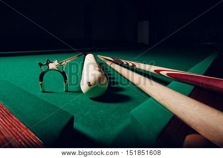 Billiard equipment