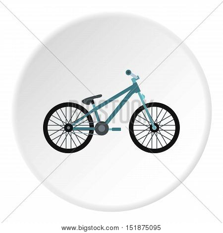 Bike icon. Flat illustration of bike vector icon for web