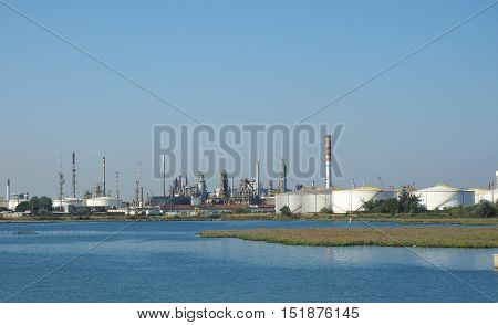 Marghera Industrial Area In Venice
