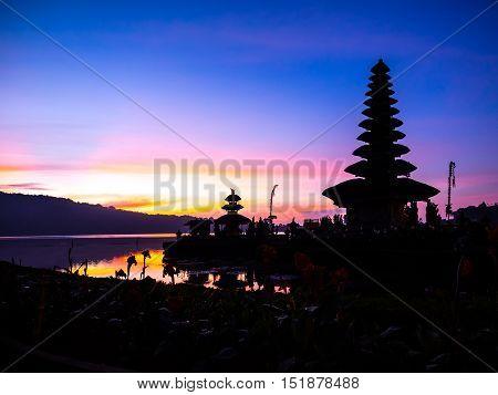 pura ulun danu beratan temple ,Bali, Indonesia