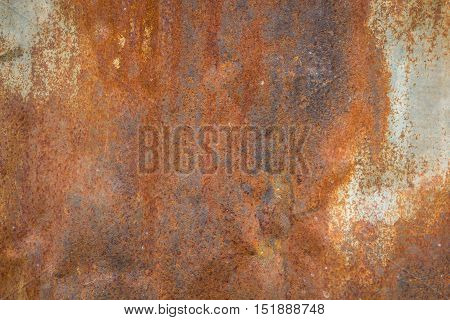 Old Metal Iron Rust Texture. Suitable For Background,backdrop,wallpaper And All Artwork About Rust B