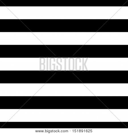 Striped seamless pattern with horizontal line. Black and white fashion graphics design. Strict graphic background. Retro style. Template for wallpaper wrapping textile fabric. Illustration.
