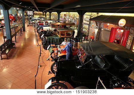 Classic Cars In Koc Museum
