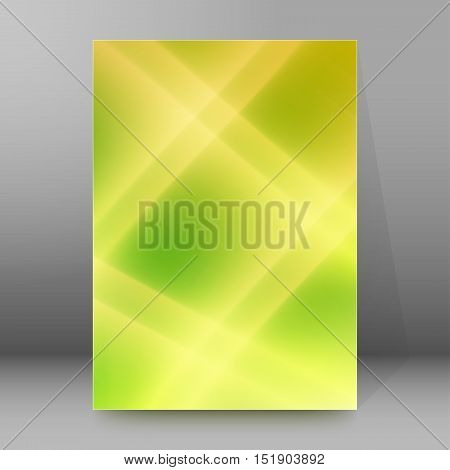 Background Report Brochure Cover Pages A4 Style Abstract Glow09