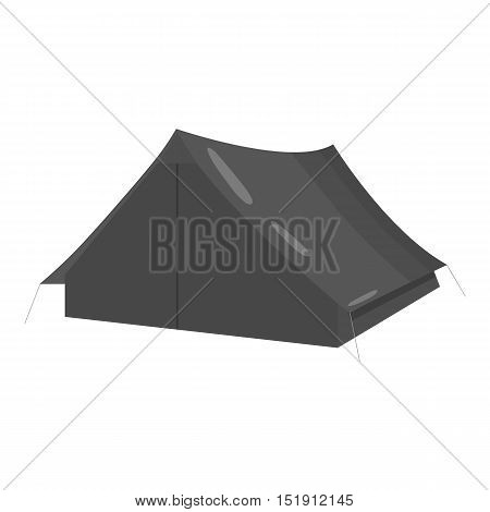 Tourist tent icon of vector illustration for web and mobile design