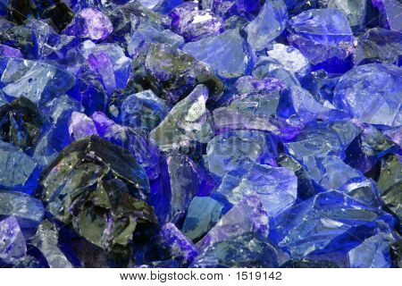 Shards Of Blue Glass