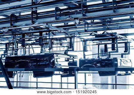 Piaguo plant workshop spare parts production lines