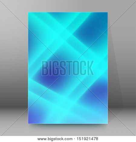 Background Report Brochure Cover Pages A4 Style Abstract Glow11