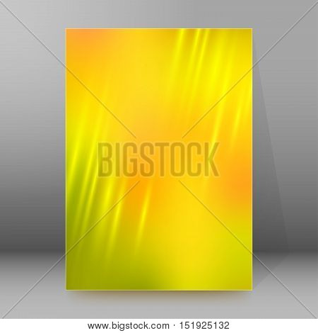 Background Report Brochure Cover Pages A4 Style Abstract Glow21