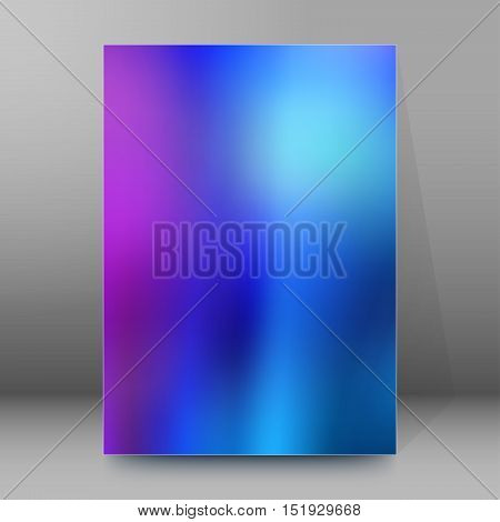 Background Report Brochure Cover Pages A4 Style Abstract Glow34