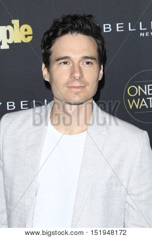 LOS ANGELES - OCT 13:  Daniel Bonjour at the People's One to Watch Party at the E.P. & L.P on October 13, 2016 in Los Angeles, CA