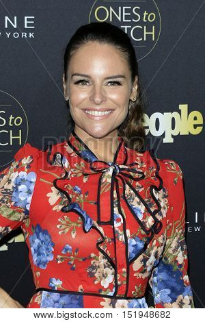LOS ANGELES - OCT 13:  Yara Martinez at the People's One to Watch Party at the E.P. & L.P on October 13, 2016 in Los Angeles, CA