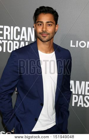 LOS ANGELES - OCT 13:  Manish Dayal at the