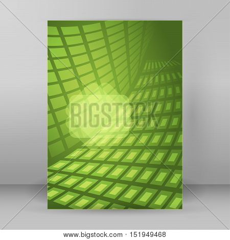 Background Report Brochure Cover Pages A4 Style Abstract Glow72