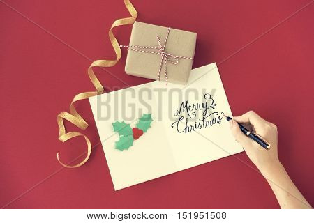 Merry Christmas Event Festive Celebrate Holiday Concept