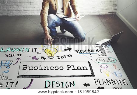 Business Planning Strategy Process Operations Concept