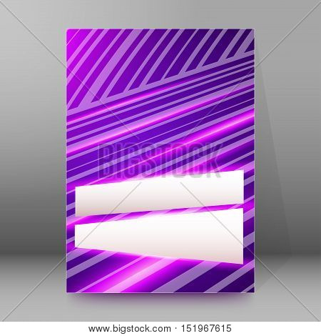 Background Report Brochure Cover Pages A4 Style Abstract Glow91