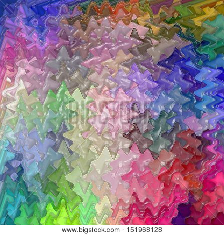 Abstract coloring background of the color harmonies gradient with wave,lighting,spherize and plastic wrap effects