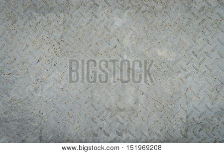 Rough rustic Metal floor for texture and background
