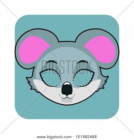 Koala Mask For Halloween And Other Festivities