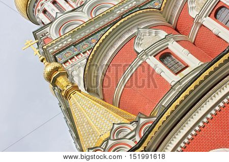 The Russian Church at Shipka, Bulgaria, detail
