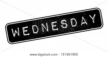 Wednesday Rubber Stamp
