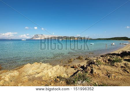 The Turquoise Sea Of Sardinia