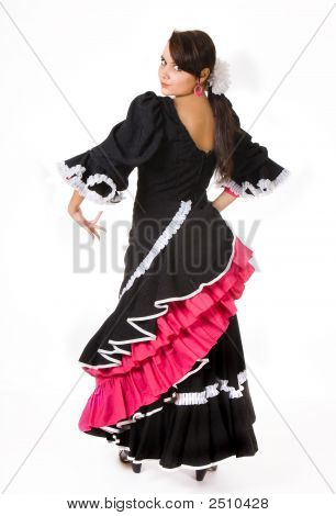 Flamenco Pose