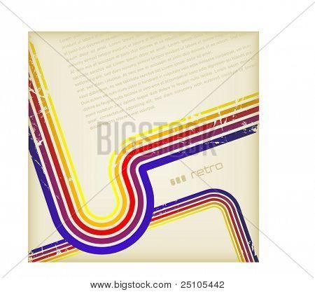 grunge fondo retro de colores del arco iris
