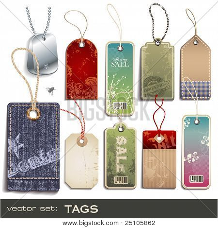 vector set: tags - 10 items