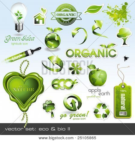 vector Icons: Eco & Bio II