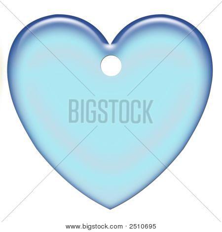 Blue Pastel Heart
