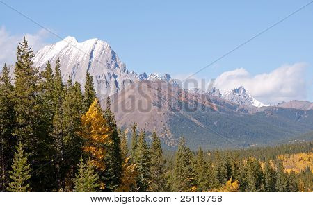 Fall In The Canadian Rockies