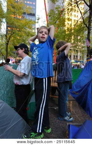 Kids Occupy Wall Street!
