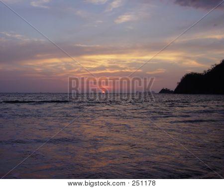 Sunset On Sugar Beach