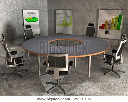 Reunion Conference table