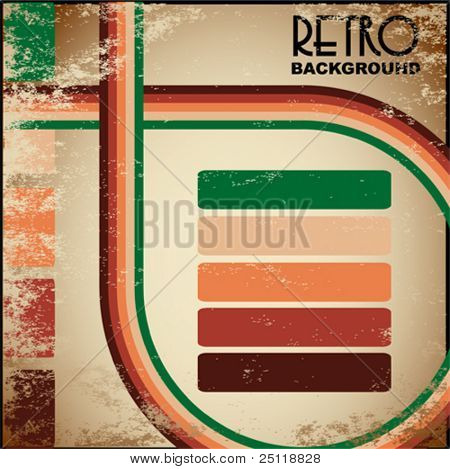 Retro Vintage Vector Background