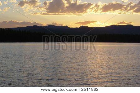 Gold On Lake