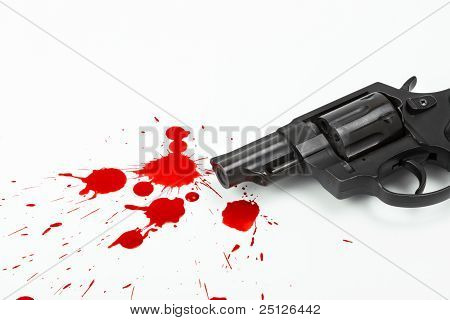 Gun And Blood