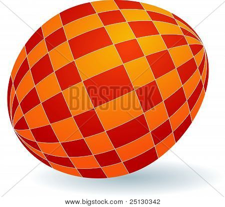 Vector Illustration Of Easter Egg
