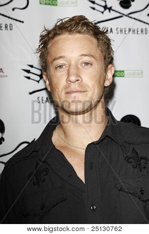 LOS ANGELES - OCT 23: Luke Tipple at the Animal Planet's 'Whale Wars' + Sea Shepherd Conservation Society event for 'Operation No Compromise' on October 23, 2010 in Los Angeles, California